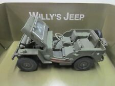 Gateway Global Willy's Jeep Army Green 1:32 Scale Metal with some plastic parts