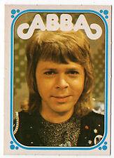 1970s Monty Gum Pop Stars Abba type card  - Björn Bjorn Ulvaeus
