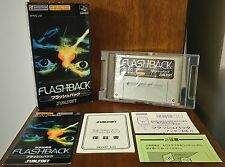 FLASHBACK Nintendo SUPER FAMICOM SFC JAPANESE JAPAN NTSC-J JAP