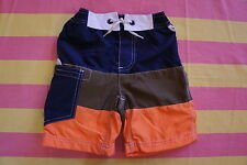 ** SALE ** NEW Mini Boden Surf Shorts Swim - Age 9 to 10 years - Navy Cut & Sew