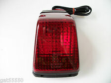 NEW ENDURO TRIAL REAR TAILLIGHT COMPLETE TAIL LIGHT STOP BRAKE LENS CRF YZF XR