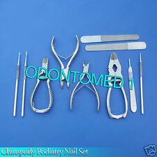 Chiropody Podiatry Nail Clippers/Nippers/Cutters Podiatry Instruments Kit - NEW
