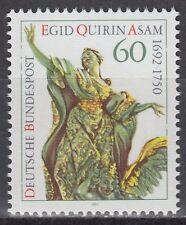GERMANY federale BRD 1992 ** mi.1624 Egid Quirin Asam SCULTURA SCULPTURE