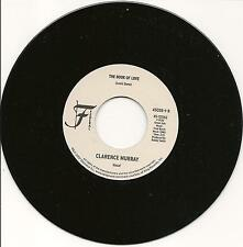 CLARENCE MURRAY - The book of love - NORTHERN SOUL 7'' 45rpm  - LISTEN!!