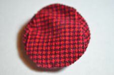1964 VINTAGE KEN LITTLE RED RIDING HOOD AND THE WOLF #0880 HOUNDSTOOTH  CAP