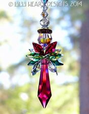 m/w Swarovski Crystal Big 2014 Christmas Angel Suncatcher Lilli Heart Designs