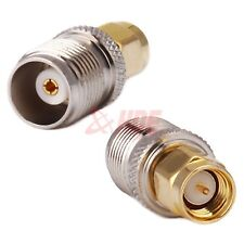 RP-TNC Female Plug to RP-SMA Male Jack Center RF Coaxial Adapter Connector