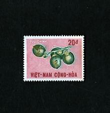 1967 RVN South Vietnam Postal Stamp Fruits Garcinia Mangostana MNH 20d