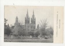 Anglican Cathedral Adelaide Australia Vintage Postcard 114b
