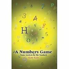 A Numbers Game : Name Analysis by the Numbers by Kate Katz (2005, Paperback)