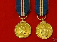 Quality Golden Jubilee Miniature Medal (British Medals)