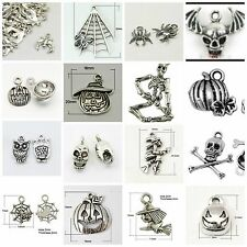 Halloween Soup-250 pieces-tibetan antique silver color-mixed charms-increased qt
