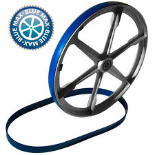 """6"""" X 1/2"""" BLUE MAX URETHANE BAND SAW TIRES HEAVY DUTY .095 THICK 2 TIRE SET"""