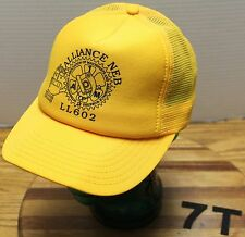 VINTAGE IAOMAAW ASSOC OF MACHINISTS & AEROSPACE WORKERS UNION HAT LL 602 EUC