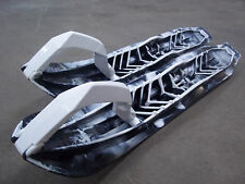 SKI-DOO DS-2 SKI PACKAGE MARBLE BLACK AND WHITE
