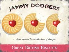 Jammy Dodgers, British Biscuits Retro Vintage Advert Gift Novelty Fridge Magnet