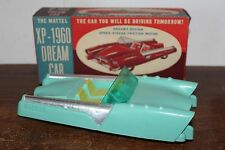 RARE 1950'S MATTEL XP-1960 FRICTION OPERATED DREAM CAR in ORIGINAL BOX #3