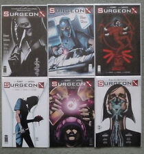 SURGEON X #1-6 SET..SARA KENNEY/JOHN WATKISS..IMAGE 2016 1ST PRINT..NM