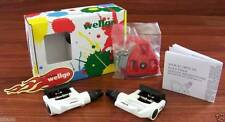 Wellgo W-40 Bicycle Road Bike Clipless Pedal WHITE Look