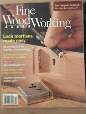 Taunton's Fine Woodworking Lock Mortises Made Easy February 2015 FREE SHIPPING!
