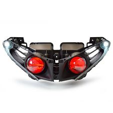For Yamaha YZF R1 2012-2014 LED Demon Eyes HID Projector Headlight Assembly Red
