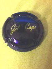 Capsule de champagne GASPARD-BAYET cuvée gil'caps (12c. violet et métal)