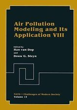 Nato Challenges of Modern Society Ser.: Air Pollution Modeling and Its...