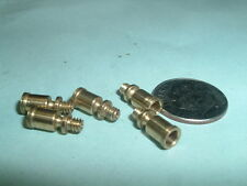 (5)Super Mini Model Hit & Miss Gas Engine or Steam engine Open Brass oil Cups
