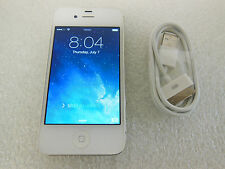Apple iPhone 4 32GB Model A1387 MD244X/A (AT&T) *White* (42199)