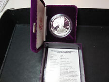 1989 Proof silver eagle with box and COA (pse7)