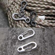 1x Handy Carabiner Snap Clip Hook Key Chain for Camping Hiking Climbing Outdoor