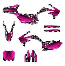 2010 2011 2012 2013 CRF 250 R graphics Honda 250R sticker kit NO2500 Hot Pink