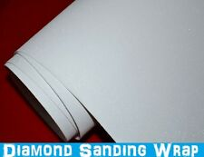 Diamond Sanding White Car Wrap 152 x 30cm - Bubble Free Vinyl Film Foile Glitter