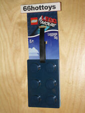 LEGO The Movie Brick Luggage Bag Tag NAVY NEW