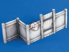 Verlinden 1/35 Close Board Wooden Fence Section with Gate [Resin Diorama] 2184
