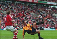 Robbie FOWLER Signed Autograph RARE Photo AFTAL COA Liverpool Legend Genuine