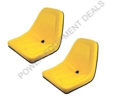 NEW 2 PACK SEAT FOR JOHN DEERE GATOR YELLOW [AIP][TM333YL X2]