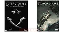 Black Sails - Serie Tv - Stagioni 1 e 2 - Cofanetti Singoli Con 6 Dvd - Nuovi