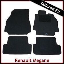 RENAULT Megane mk2 2002-2008 completamente montato su misura moquette tappetini Nero