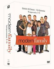 MODERN FAMILY 1-6 THE COMPLETE DVD  SEASON 1 2 3 4 5 6 ENGLISCH