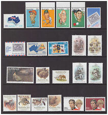 Australia 1981 Year sets collection 36 mint  stamps,2 scans