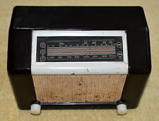 ANTIQUE DE FOREST TUBE SHORT WAVE RADIO MODEL D576 COLLECTIBLE MADE IN CANADA