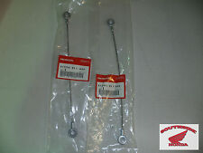 GENUINE HONDA REAR TAIL GATE WIRE STOPPERS (2) BIG RED MUV700 2009-2013