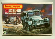 """KFZ 69 """"Krupp Protz"""" Matchbox-Bausatz 1:76 neuwertig"""