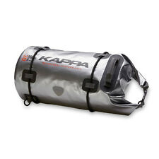 Kappa WA401S Dry Pack 30ltr 100% waterproof Motorcycle Touring Luggage Roll Bag