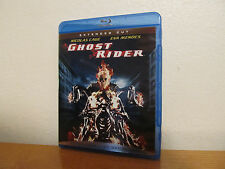 GHOST RIDER - EXTENDED CUT Blu Ray  - I combine shipping