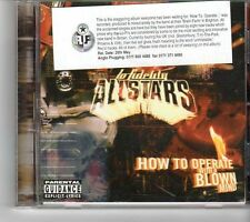 (FK86) Lo Fidelity Allstars, How To Operate With A Blown Mind - 1998 CD