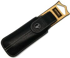 Opinel Chic Black Leather Knife Sheath Fits Traditional No. 7,8,9 & More 001546