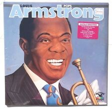 Sealed LOUIS ARMSTRONG Pops LP BLUEBIRD RECORDS 5920-I-RB US 2XLP Remastered
