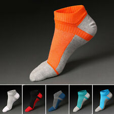 New Combed Men's Five Finger Toe Cotton Ankle Casual Work Sport Short Boot Socks